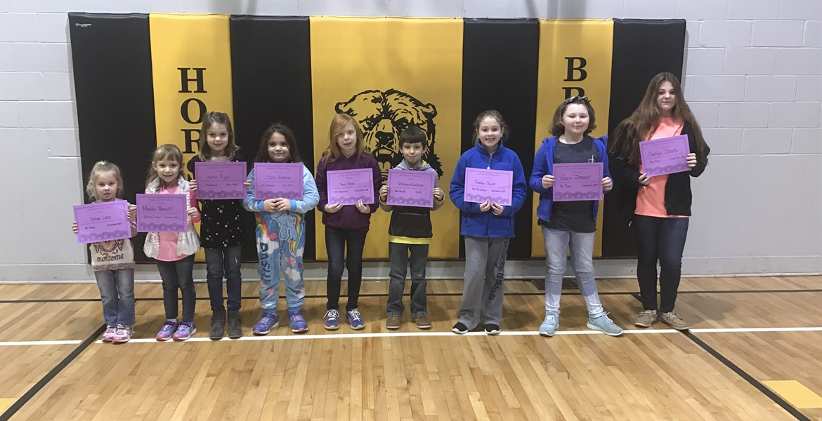 December Leaders of the Month