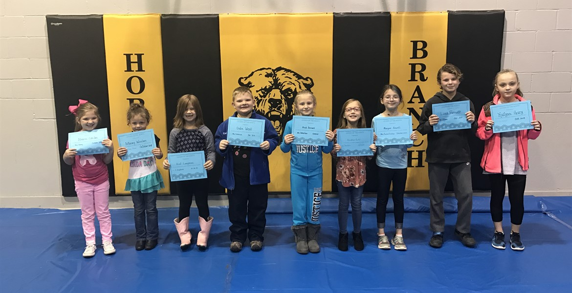 October Leaders of the Month