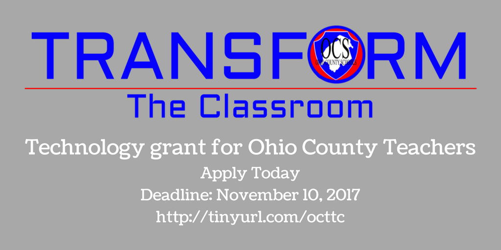 Transform The Classroom Banner